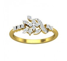 Natural Diamond Ring 0.30 CT / 2.39 gm Gold
