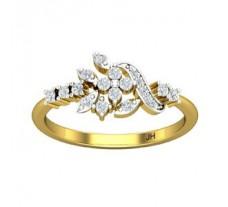 Natural Diamond Ring 0.30 CT / 2.39 gm Gold