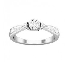 Natural Diamond Ring 0.27 CT / 3.00 gm Gold