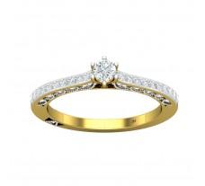 Natural Diamond Ring 0.68 CT / 4.25 gm Gold