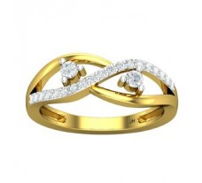 Natural Diamond Ring 0.32 CT / 3.60 gm Gold