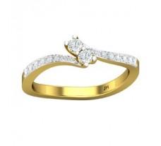 Natural Diamond Ring 0.30 CT / 2.48 gm Gold