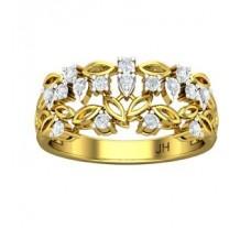 Natural Diamond Ring 0.32 CT / 3.40 gm Gold
