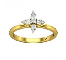Natural Diamond Ring 0.19 CT / 2.51 gm Gold