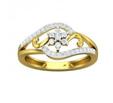 Diamond Ring 0.35 CT / 2.95 gm Gold