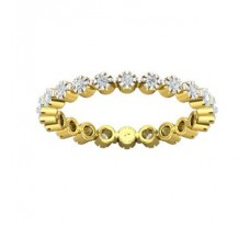 Natural Diamond Band 0.33 CT / 2.40 gm Gold