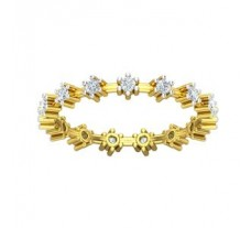 Natural Diamond Band 0.37 CT / 2.15 gm Gold