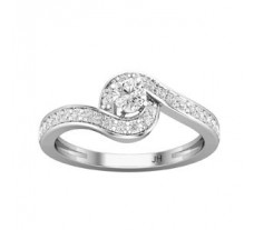 Natural Diamond Ring 0.45 CT / 3.00 gm Gold