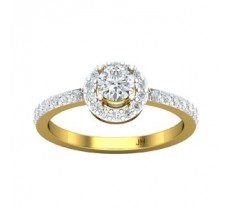 PreSet Natural Solitaire Diamond Ring 0.65 CT / 2.53 gm Gold