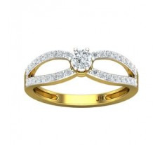 Natural Diamond Ring 0.51 CT / 2.60 gm Gold