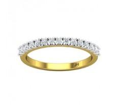 Natural Diamond Band 0.34 CT / 2.00 gm Gold