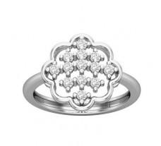 Natural Diamond Ring 0.32 CT / 2.90 gm Gold