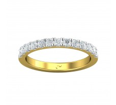 Natural Diamond Ring 0.39 CT / 1.58 gm Gold