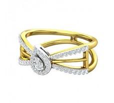 Natural Diamond Ring 0.33 CT / 3.93 gm Gold