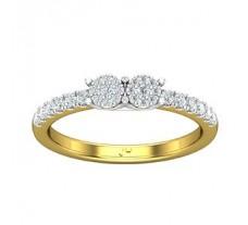 Natural Diamond Ring 0.34 CT / 2.61 gm Gold