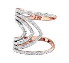 Natural Diamond Ring 0.77 CT / 6.30 gm Gold