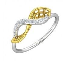 Natural Diamond Ring 0.12 CT / 1.91 gm Gold