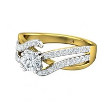 PreSet Natural Solitaire Diamond Ring 0.82 CT / 4.40 gm Gold