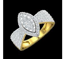 Natural Diamond Ring 0.92 CT / 4.28 gm Gold