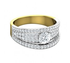 PreSet Natural Solitaire Diamond Ring 1.28 CT / 5.80 gm Gold