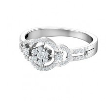 Natural Diamond Ring 0.53 CT / 3.49 gm Gold
