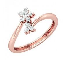 Natural Diamond Ring 0.19 CT / 2.15 gm Gold