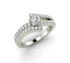 Natural Diamond Solitaire Ring 0.67 CT / 5.00 gm Gold
