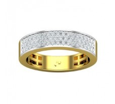 Natural Diamond Band 0.53 CT / 5.10 gm Gold