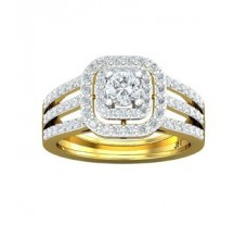 PreSet Natural Solitaire Diamond Ring 1.02CT / 5.02 gm Gold