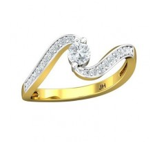 Natural Diamond Solitaire Ring 0.45 CT / 2.62 gm GOLD