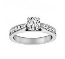 Diamond Solitaire Ring 0.62 CT / 2.88 gm GOLD