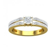PreSet Solitaire Natural Diamond Ring 0.65 CT / 4.24 gm Gold