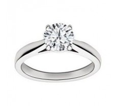 Diamond Solitaire Ring 0.23 CT / 2.75 gm Gold