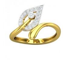 Natural Diamond Ring 0.23 CT / 1.80 gm Gold