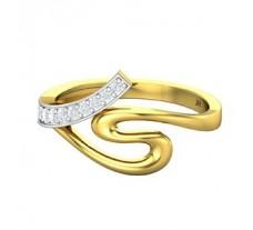 Natural Diamond Ring 0.18 CT / 2.60 gm Gold