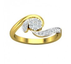 Natural Diamond Ring 0.29 CT / 3.00 gm Gold