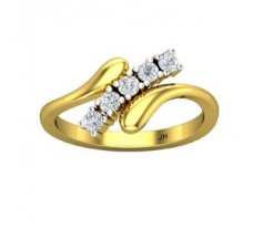 Natural Diamond Ring 0.25 CT / 2.30 gm Gold