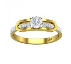 Natural Diamond Ring 0.41 CT / 2.71 gm Gold