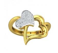 Natural Diamond Ring 0.29 CT / 3.00 gm Gold