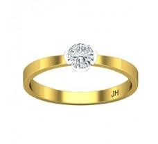 Natural Diamond Ring 0.23 CT / 2.03 gm Gold