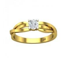Natural Diamond Ring 0.23 CT / 2.50 gm Gold