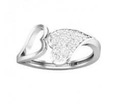 Natural Diamond Ring 0.29 CT / 2.75 gm Gold