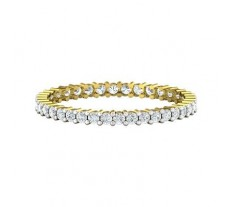 Natural Diamond Band 0.45 CT / 1.40 gm Gold