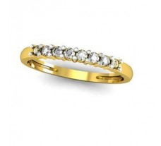 Natural Diamond Band 0.26 CT / 1.77 gm Gold