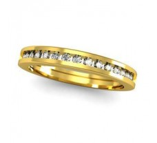 Natural Diamond Band 0.20 CT / 2.10 gm Gold
