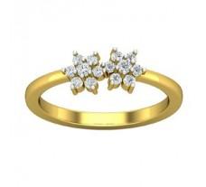 Natural Diamond Designer Ring 0.24 CT / 2.80 gm Gold