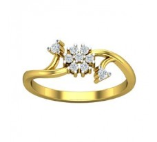Natural Diamond Designer Ring 0.20 CT / 2.30 gm Gold