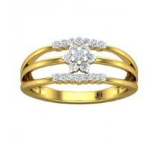 Natural Diamond Designer Ring 0.23 CT / 2.40 gm Gold