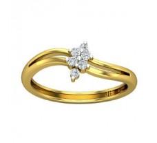 Natural Diamond Designer Ring 0.12 CT / 2.17 gm Gold