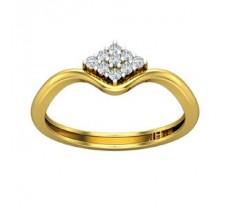 Natural Diamond Designer Ring 0.11 CT / 1.98 gm Gold